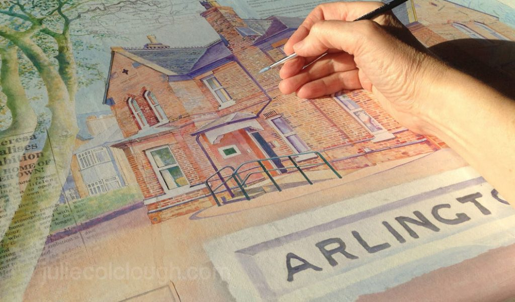 Arlington House - illustration