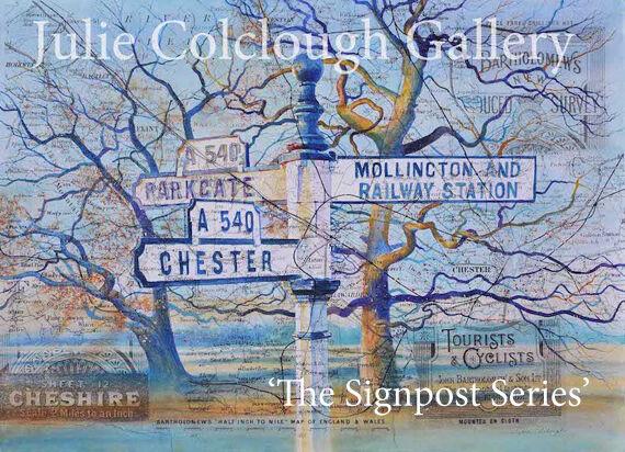 Chester Mollington Parkgate - Signpost Series