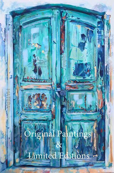 Italian Door Painting