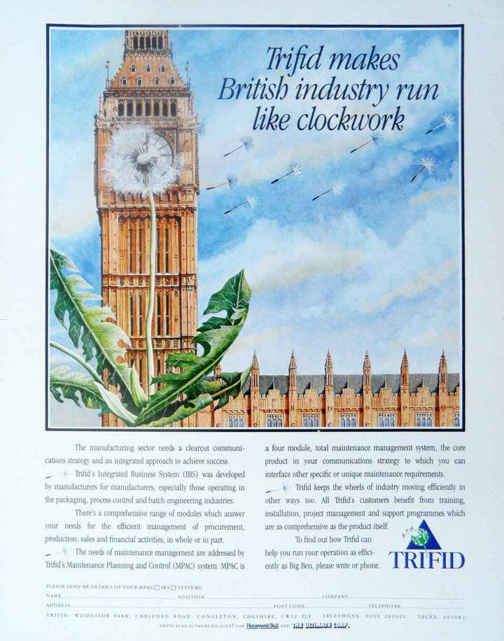Trifid - illustration